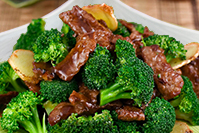 113 Sliced Beef and Broccoli